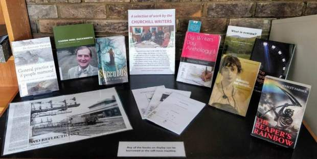 Library display Oct 2019