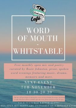 Word of mouth Whitstable November 19 social